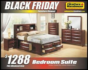 BLACK FRIDAY Bedroom Set Deal-Only $1288
