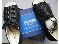New, Ladies Paver open toe Sandel, Size 7, wide fitt .