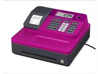 Casio cash register till pink