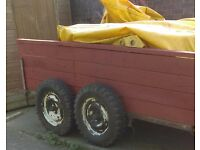 Plant flat bed trailer 9ft by 5ft