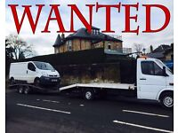 VAUXHALL vivaro & Renault Trafic van wanted