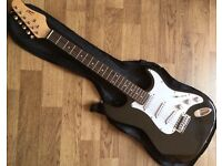 CBSky full Size Electric Guitar With Black Gloss Finish