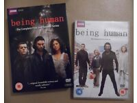 BBC DVD 'Being Human' Complete Series 1, 2 & 3 (with Aidan Turner)