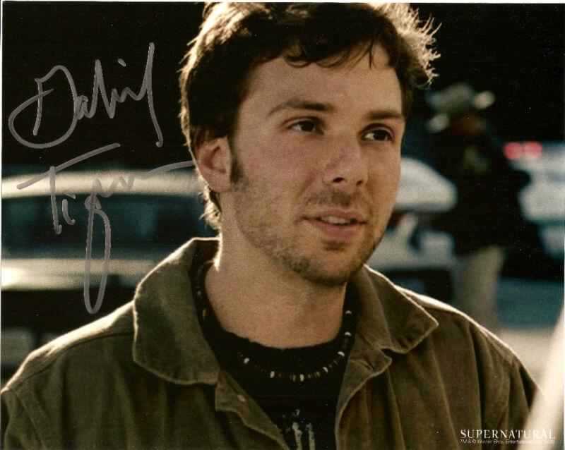 Supernatural Gabriel Tigerman Autographed Signed 8x10 Photo COA