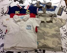 Baby boy bundle of t-shirts 18-24 months
