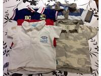 Baby boy bundle of t-shirts 18-24 months