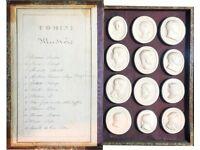Giovanni Liberotti, Giovanni Liberotti, very rare Grand Tour plaster cast medallions