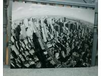 Massive canvas picture