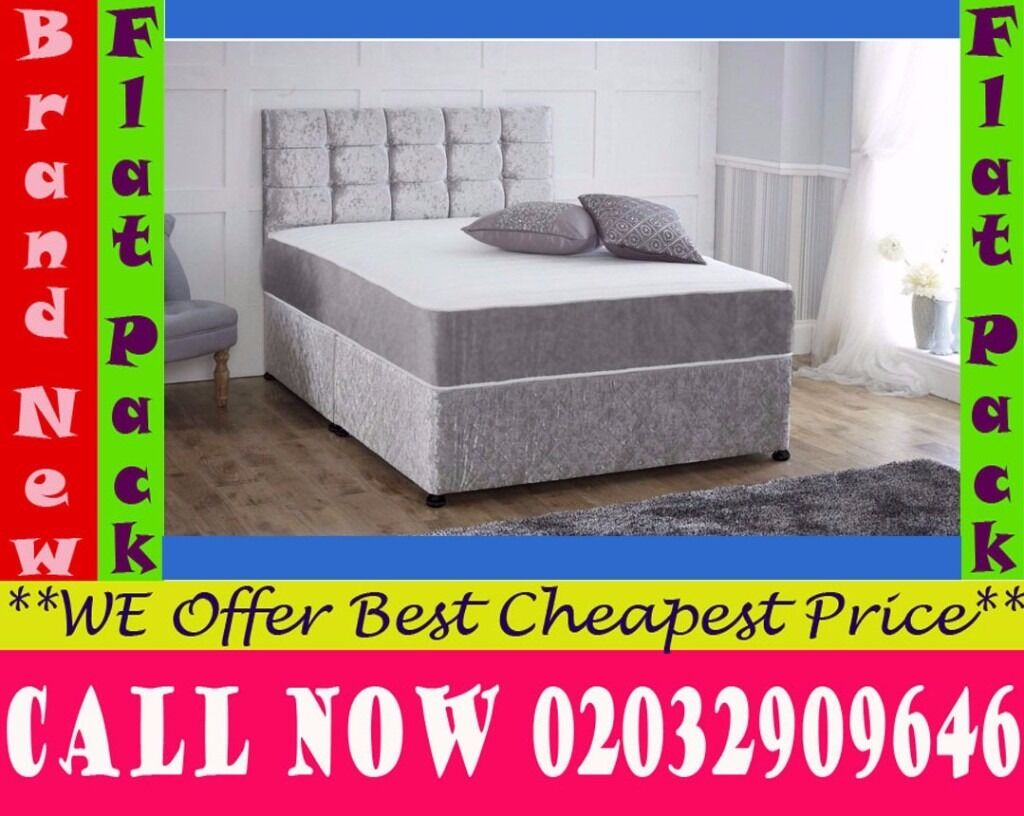 Amazing Offer CRUSH VELVET SINGLE DOUBLE KING SIZE MEMORY FOAM DESIGNERBedding Pueblo of Acomain Upton Park, LondonGumtree - Features Brand New Bed Type Divan Bed Size Standard Double Material crush velvet Dimensions Width 4ft6 140cmLength 6ft3 190cm Divan Base Features Platform Top Base We adhere to strict quality standards to ensure you are fully satisfied also With your...