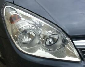 Vauxhall Astra H N/S Front Chrome Headlight.