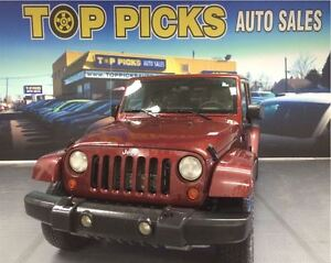 2007 Jeep Wrangler SAHARA UNLIMITED, AUTOMATIC, HWY MILEAGE!