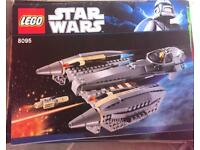 Lego Star Wars 8095 compleat with mini figures