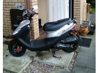 50cc SYM DD50 SCOOTER SILVER 2010 EXCELLENT CONDITION, LOW MILEAGE USUAL WEAR/ TEAR £750.00 ONO