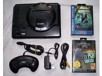 Sega mega drive with controller and 2 games!!