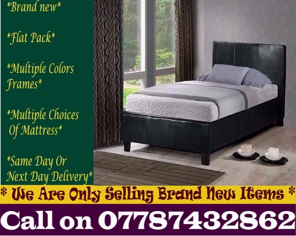 DoubleSmallKingsize Leather Bedding also With 12 inch Crown Ortho Middleboroin Isle of Dogs, LondonGumtree - Whether Youre An Investor or a Home Owner, Our Furniture Packages Are The Quickest And Most Cost Effective Way To Furnish An Entire Property. Available Colours Rich Coffee Brown Pitch Black CONDITION Brand New in original packaging, flat packed