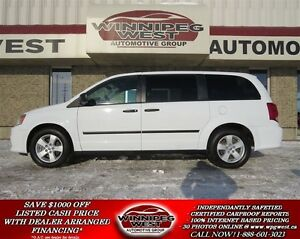 2014 Dodge Grand Caravan SE PLUS PKG, STOW-N-GO, REAR AIR/HEAT,