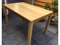 Oak 4 Seater Dining Table - New / Unused