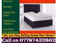 Double and Single Bedding at Best PRICE base and frame St. John