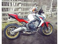 Honda CB650F 2015 HRC colours