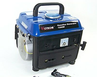 Portable Gasoline Electric Power Generator 1200w Output Voltage 120v60hz Ac