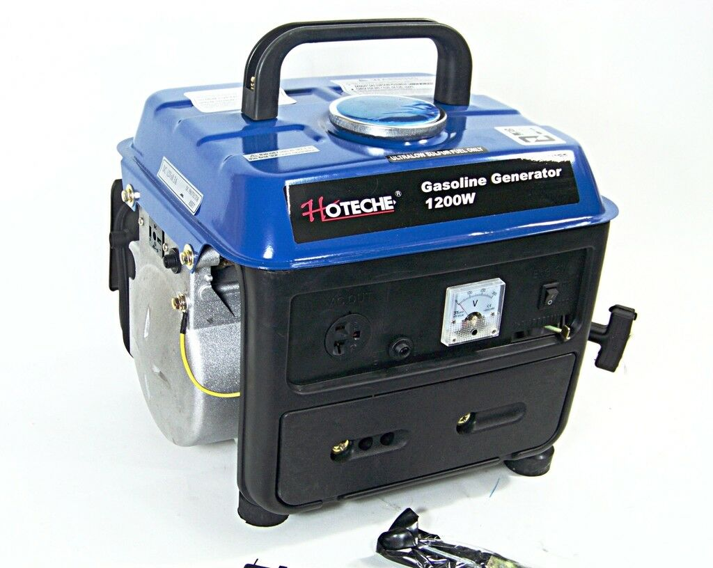 PORTABLE GASOLINE  ELECTRIC POWER GENERATOR 1200W OUTPUT VOL