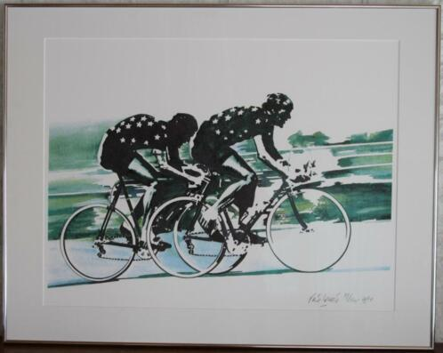 Rene brone -cycle-racing -limited edition (150) -1984