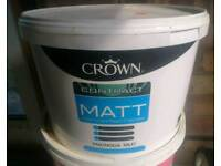 Crown matt magnolia emulsion