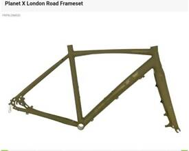 Brand new PlanetX London Road frameset