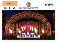TOKYO WORLD TICKET