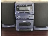 Matsui MCH760 Digital Home Music System CD Player AM/FM Radio and Cassette player