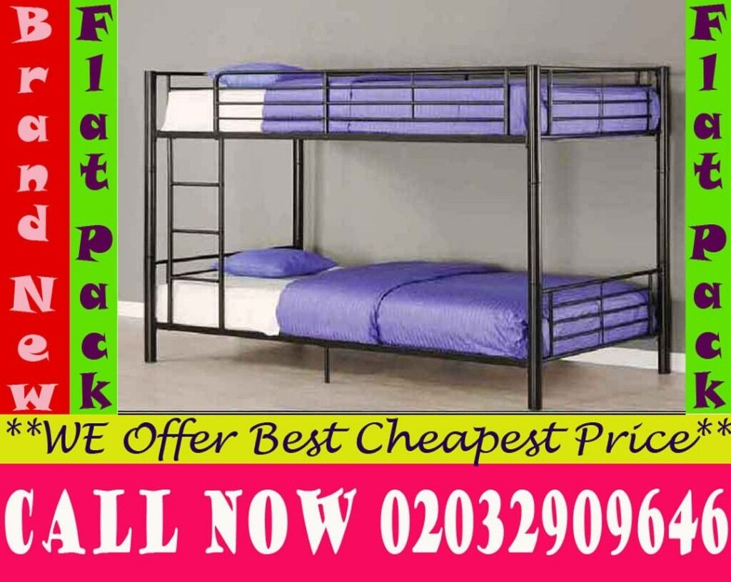 single metal bunk split in 2 single Base availableBedding Republicin Crystal Palace, LondonGumtree - The top and bottom bunks are both standard 3ft Single beds. Twin sleepers are great for children who want sleepovers but dont have the space. BUNK BED TESTED IN ACCORDANCE WITH BRITISH SAFETY STANDARD We adhere to strict quality standards to ensure...