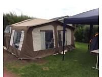 2007 pennine fiesta folding camper