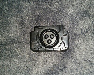 transformers armada//energon black  UNICRON parts lot chest shields as pictured