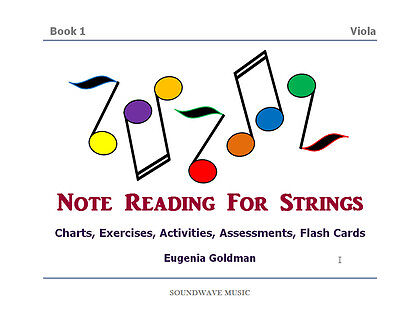 (Note Reading For Strings Book 1 (Viola))