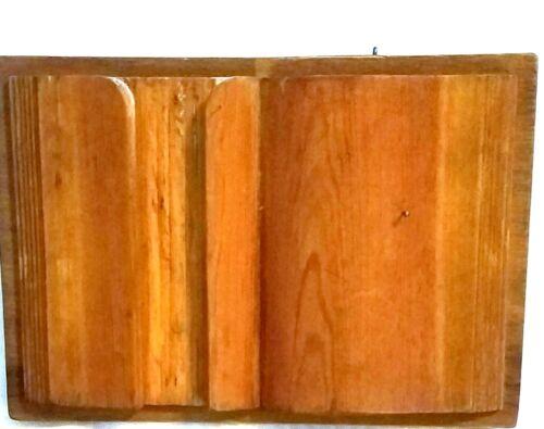 """Handy 12"""" Wooden Book Bible Holder"""