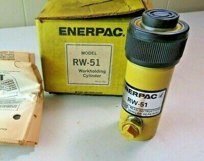 Enerpac Rw51 Rw-51 Hydraulic Cylinder 5 Ton 1 Stroke Nos In Box