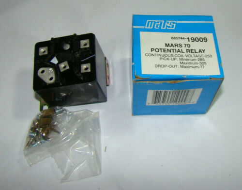 General Electric 3ARR3 Mars 70 19009 Potential Relay