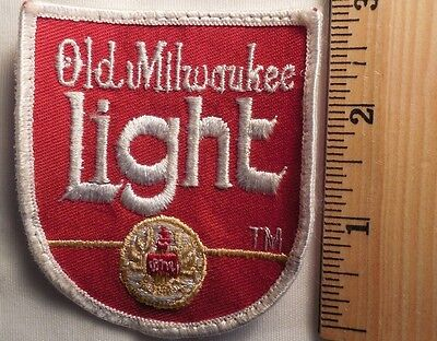 OLD MILWAUKEE LIGHT PATCH (BEER, ALCOHOL)