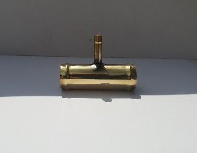 32 mm x 8 mm OD 3 Way Hose Reducer|Brass Radiator Hose Connector|Joiner