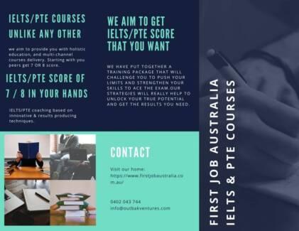 Get 7 /8 score of IELTS/PTE NOW! Australian School & Teachers