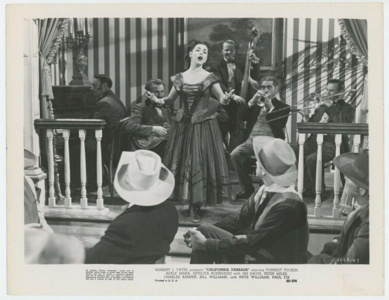 ESTELITA RODRIGUEZ original movie photo 1950 CALIFORNIA PASSAGE