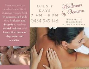 MOBILE MASSAGE Gold Coast or AT MY STUDIO From $40.00 7am 9pm Broadbeach Gold Coast City Preview