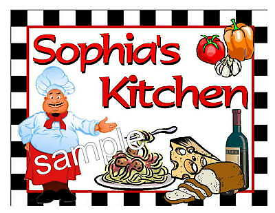 PERSONALIZED FAT CHEF KITCHEN - Kitchen Magnets
