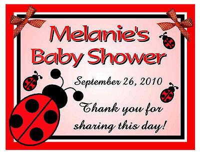 15 LADYBUG BABY SHOWER FAVORS - Ladybug Baby Shower