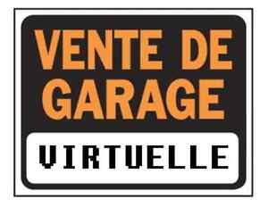 Vente de Garage Virtuelle