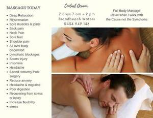 MOBILE MASSAGE or AT MY STUDIO From $40.00 Gold Coast 7am 9pm Broadbeach Waters Gold Coast City Preview