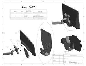 Vesa-mount-Adapter-Monitor-DELL-ST2420L-ST2320L-ST2220M-ST2220LC