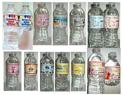 Special Order Bottles - SPECIAL ORDER WATER BOTTLE LABELS