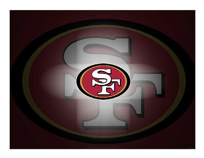 San Francisco 49ers edible cake image topper party decoration](49ers Cake)