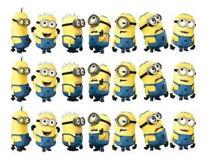 DESPICABLE ME Party Image edible cake topper sweetiepartydesigns. out of 5 stars () $ Despicable Me Cupcake Toppers Rings,Minions Cupcake Topper, Despicable me Cake Topper, Despicable me Party Favors PALERMI. 5 out of 5 stars () $